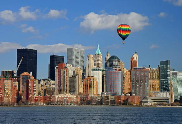 Picture of the New York City Skyline