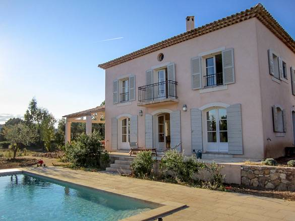 Picture of a South of France vacation rental apartment with swimming pool