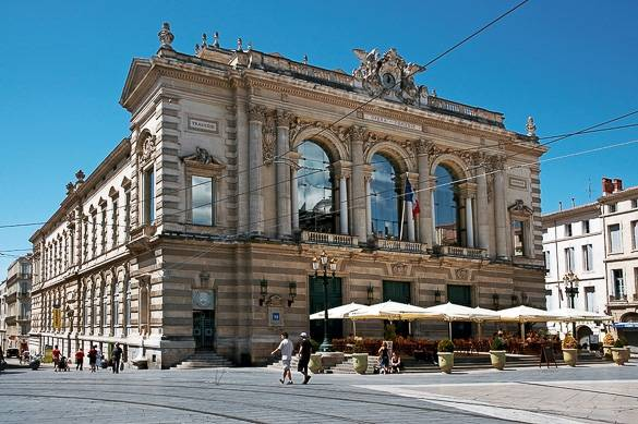Picture of Montpellier's Opéra Comédie