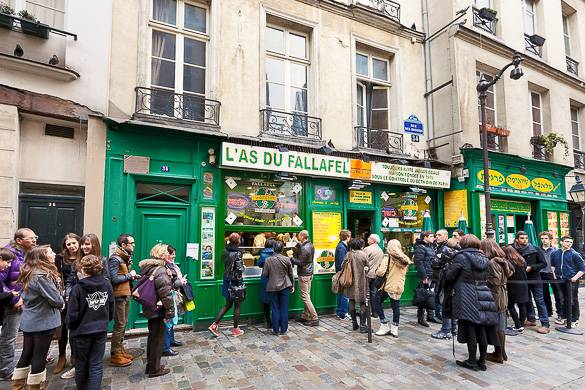 Image of L'As du Falafel in Le Marais
