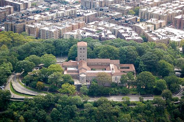 Image of the Cloisters in Washington Heights, Manhattan