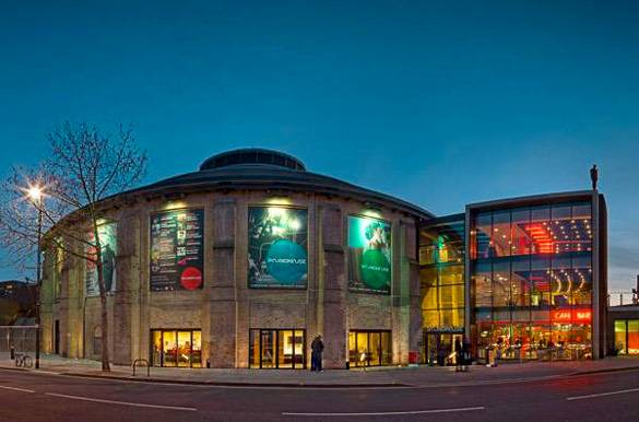 Picture of Camden's music venue Roundhouse in London
