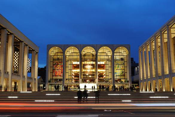 Image of Manhattan's Lincoln Center for the Performing Arts