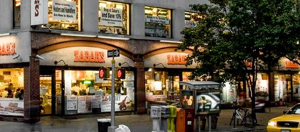 Image of Zabar's in the Upper West Side of Manhattan