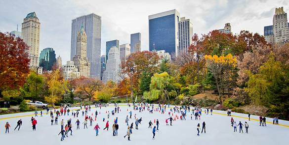 Picture of Central Park's Wollman Ice Skating Rink