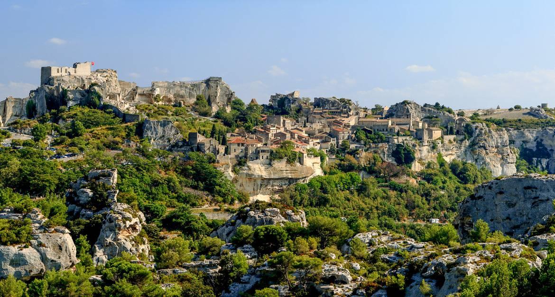 Picture of the village Les Beaux de Provence in Provence