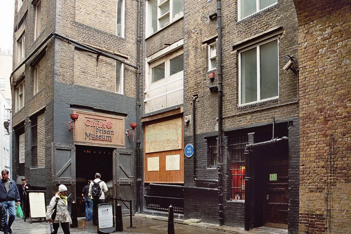 Image of London's the Clink Prison Museum in Southwark