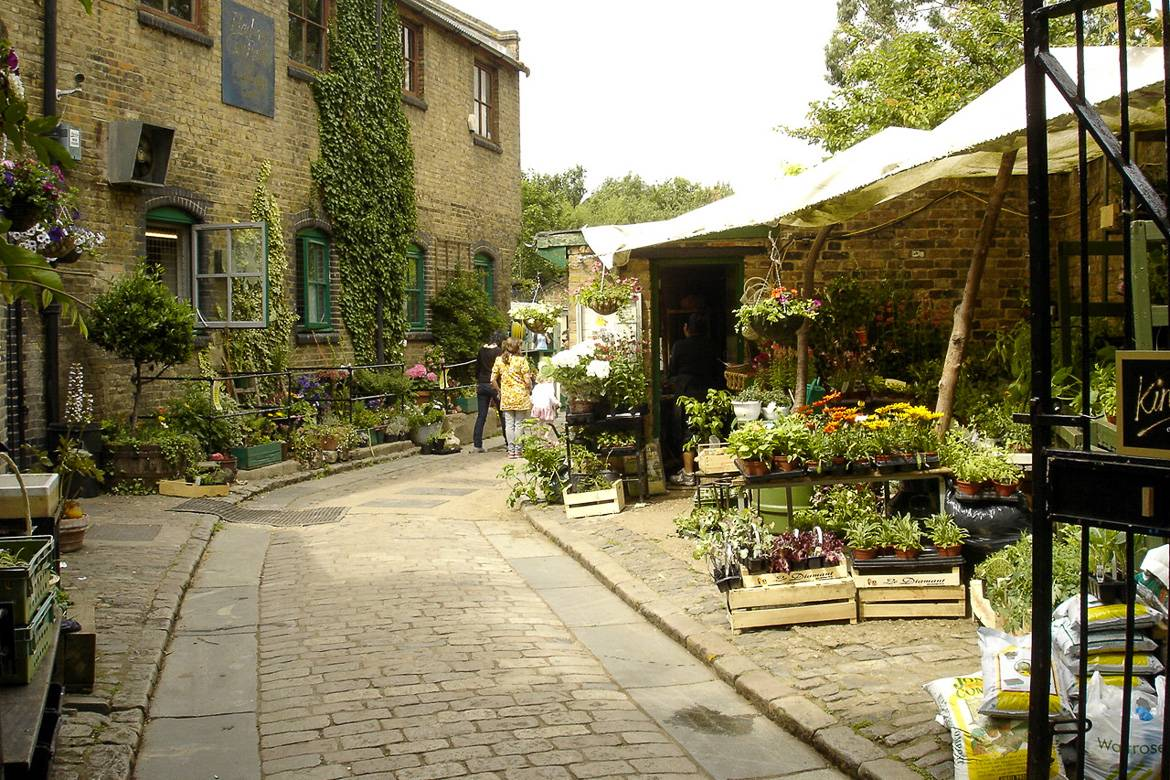 Picture of London's Hackney City Farm