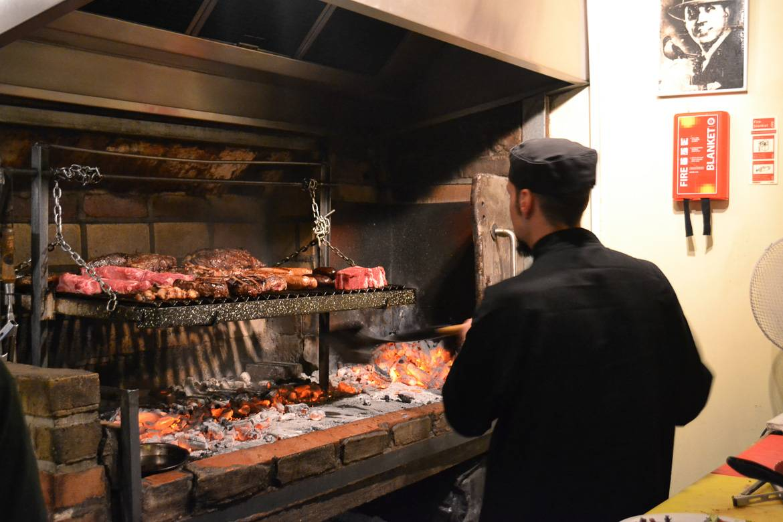 Image of Buen Ayre, a great Argentinian restaurant in Hackney