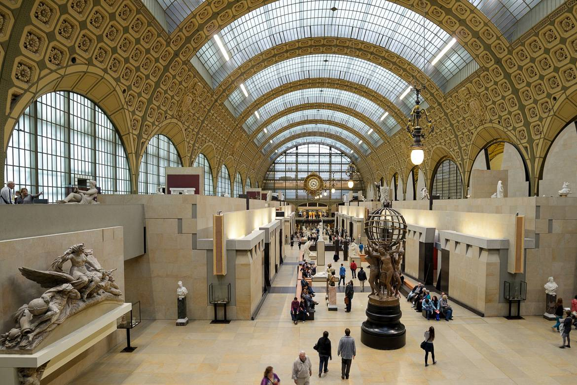 Interior image of the Musée d'Orsay