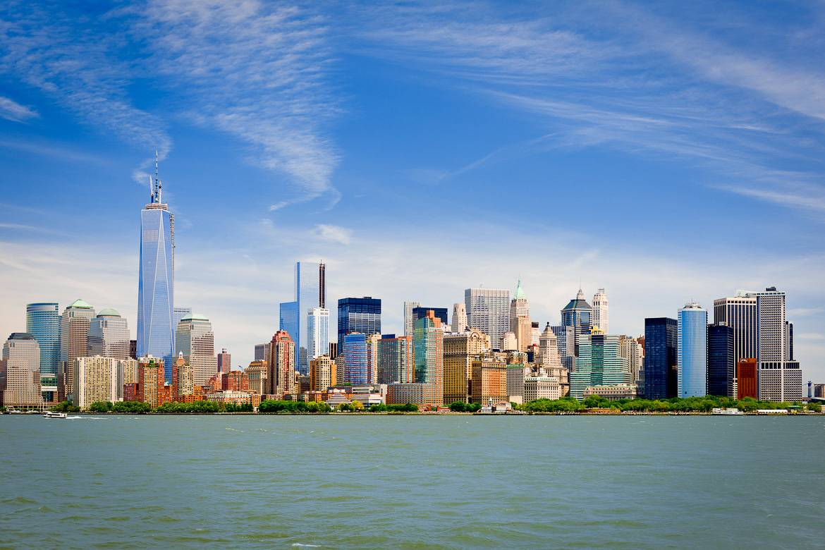 Image of the Manhattan skyline