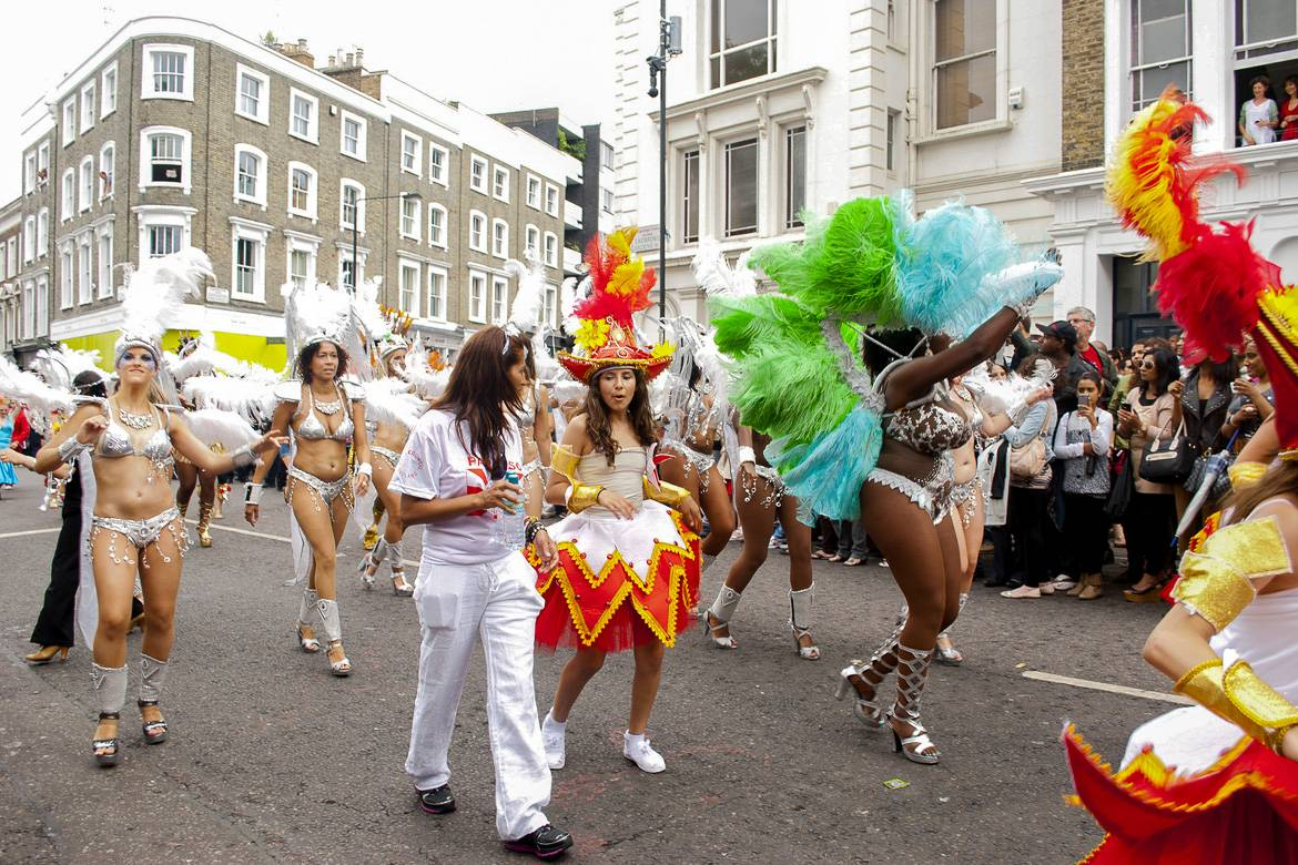 The Notting Hill Carnival celebrates Caribbean culture