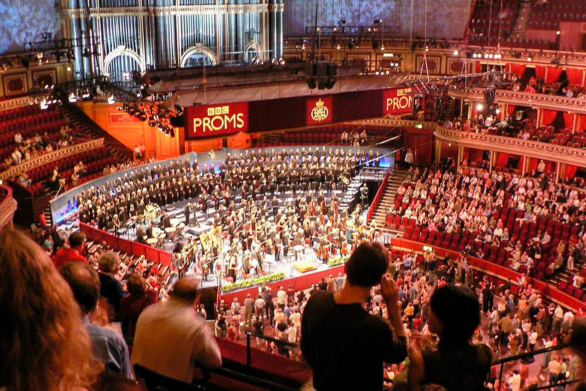 The BBC Proms in the Royal Albert Hall