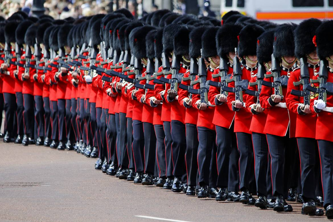 Trooping the Colour in London
