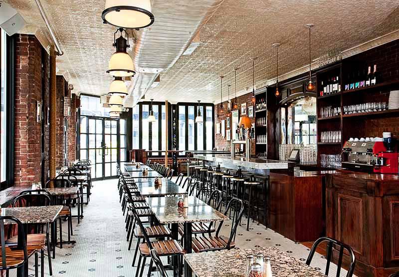 Picture of the Artichoke Pizza restaurant.