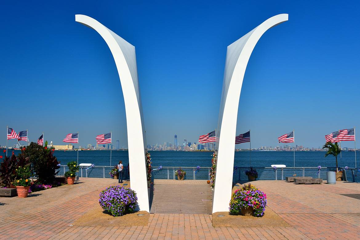 Picture of the 9/11 Memorial in Staten Island