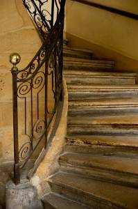 Image result for images of old Parisian stairs