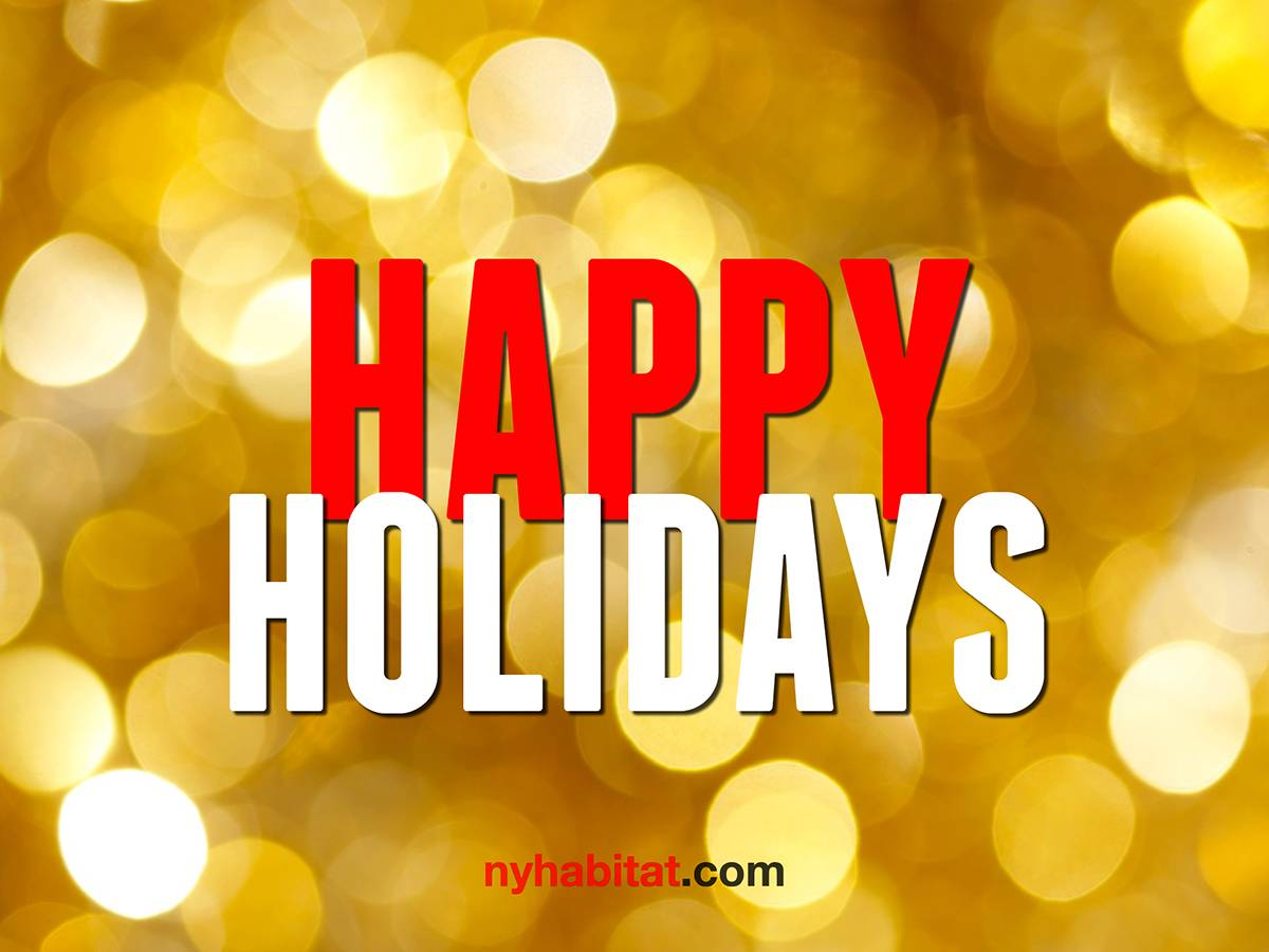 Happy Holidays from New York Habitat!