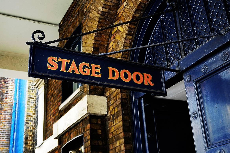 Image of stage door