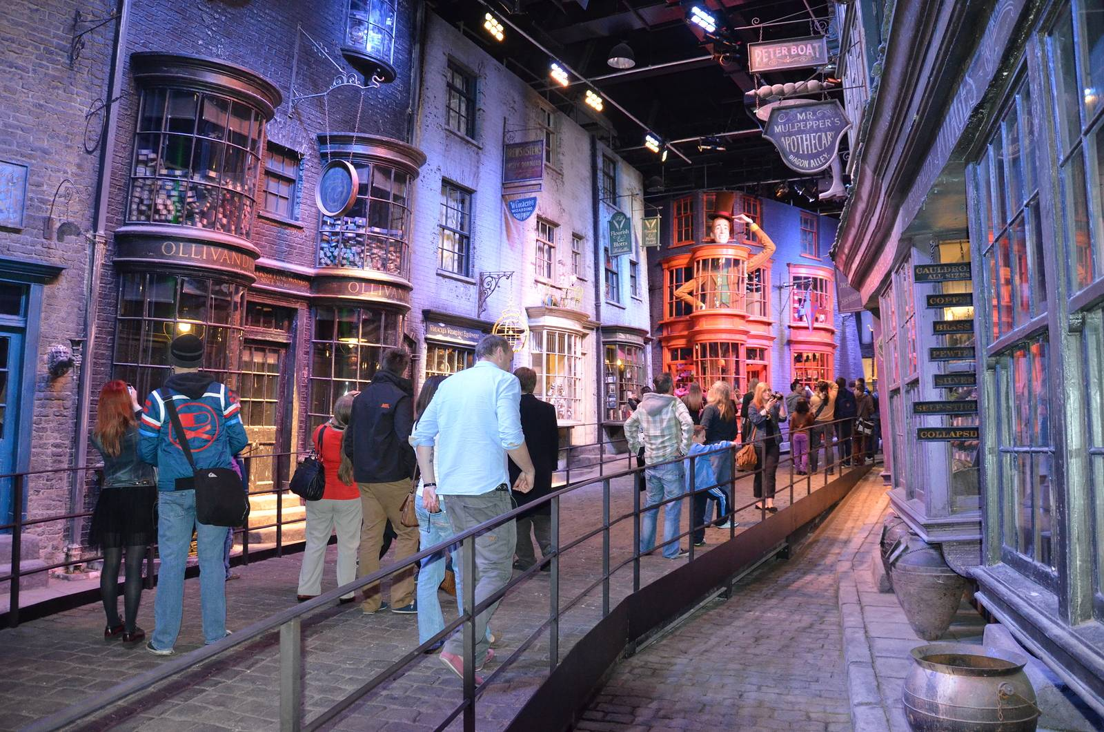 Image of Harry Potter Diagon Alley Set