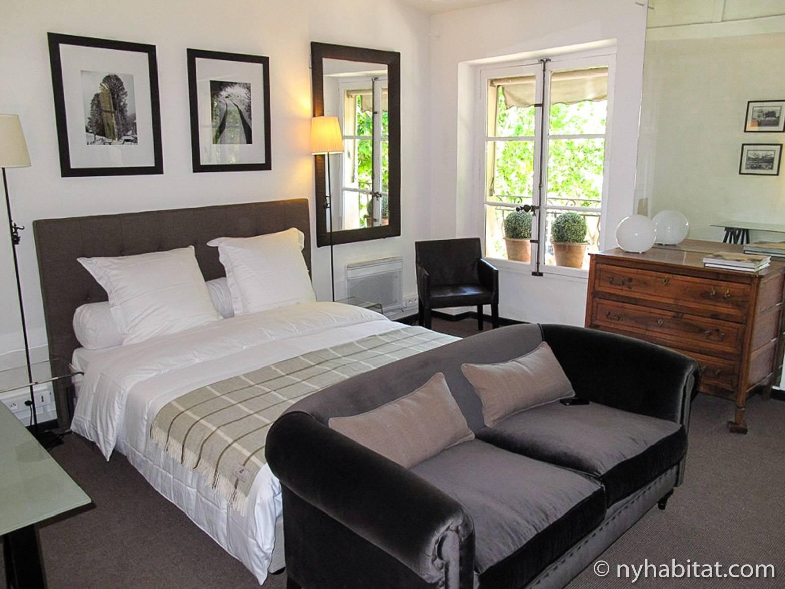 Image of a bedroom in Aix-en-Provence