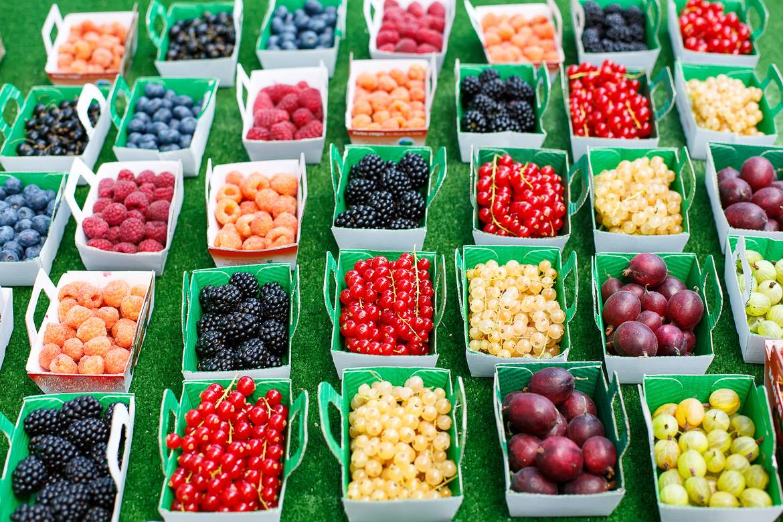 Image of various berries