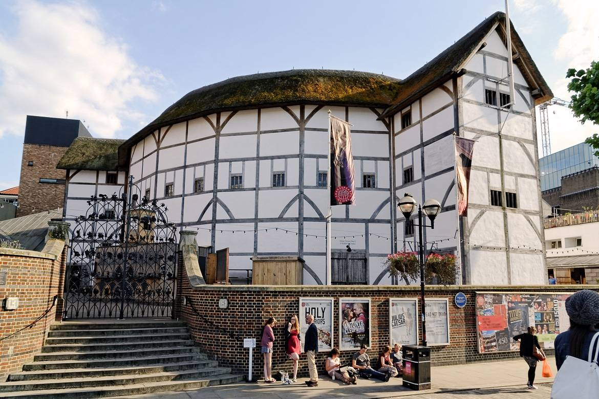 Image of Shakespeare's Globe Theater