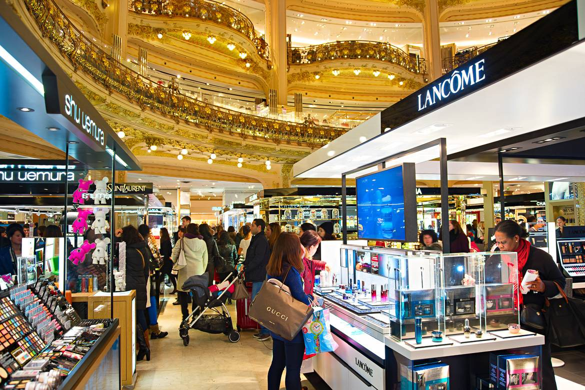 Image of Galeries Lafayette on the ground level