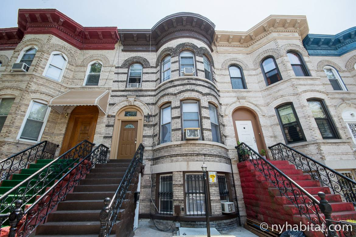Image of low-rise buildings in Brooklyn, NY outside NY-15895