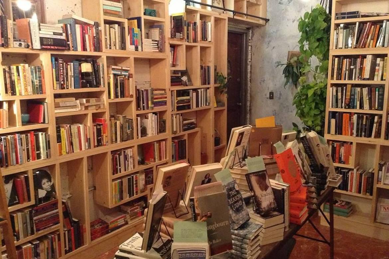 Image of interior of Hullabaloo Books