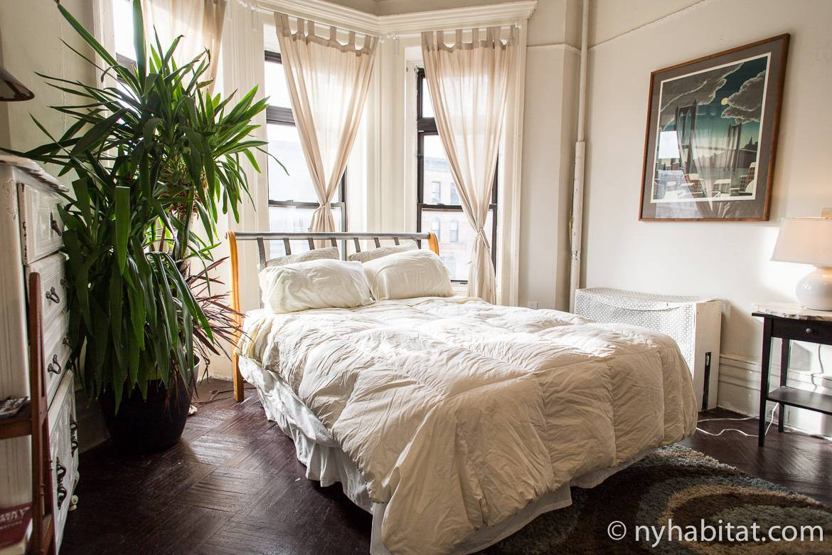 Image of the bedroom of apartment NY-16698
