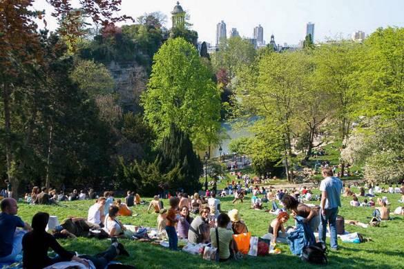 Image of the Parc des Buttes Chaumont