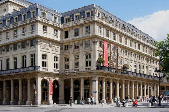 Image of the Comedie-Française building