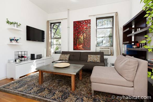 Image of living room of NY-16583 in Greenwich Village