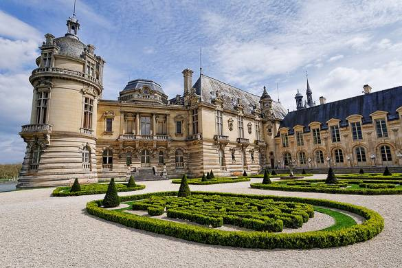 Image of Château de Chantilly and grounds