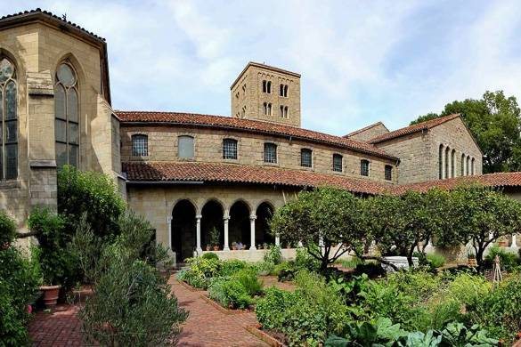 Image of The Cloisters Museum in Fort Tryon Park