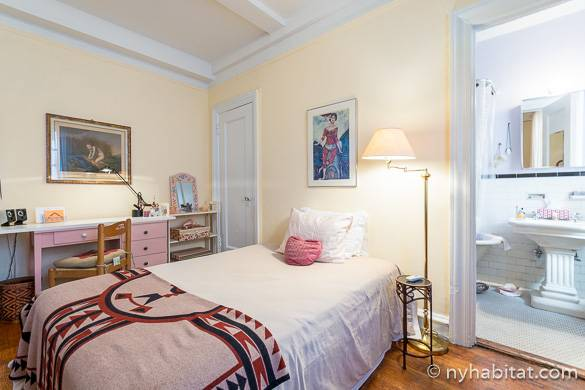 Image of bedroom for rent in apartment share NY-6091 in Midtown West