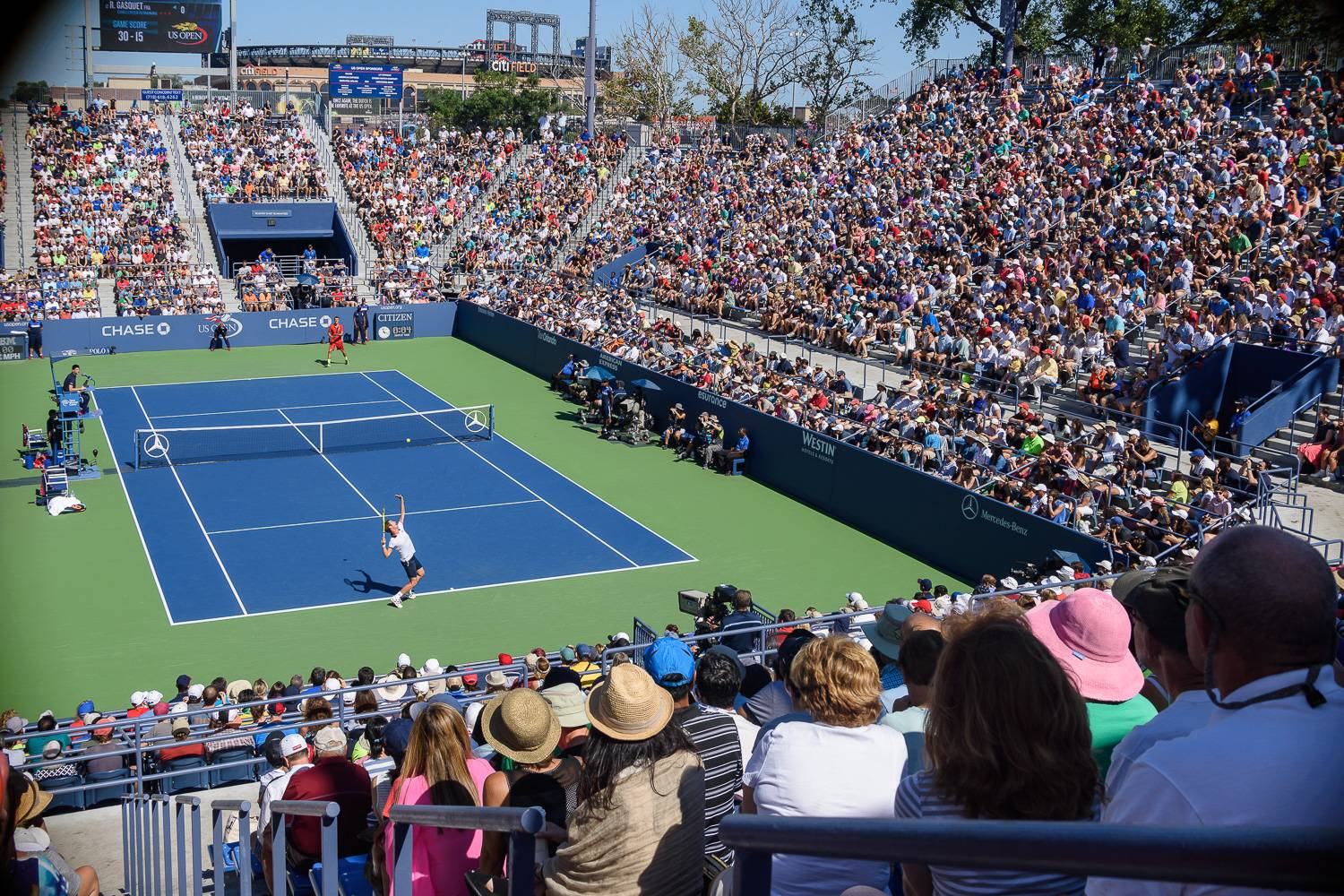 Photo - finding furnished rentals US Open tennis sporting events US Open match