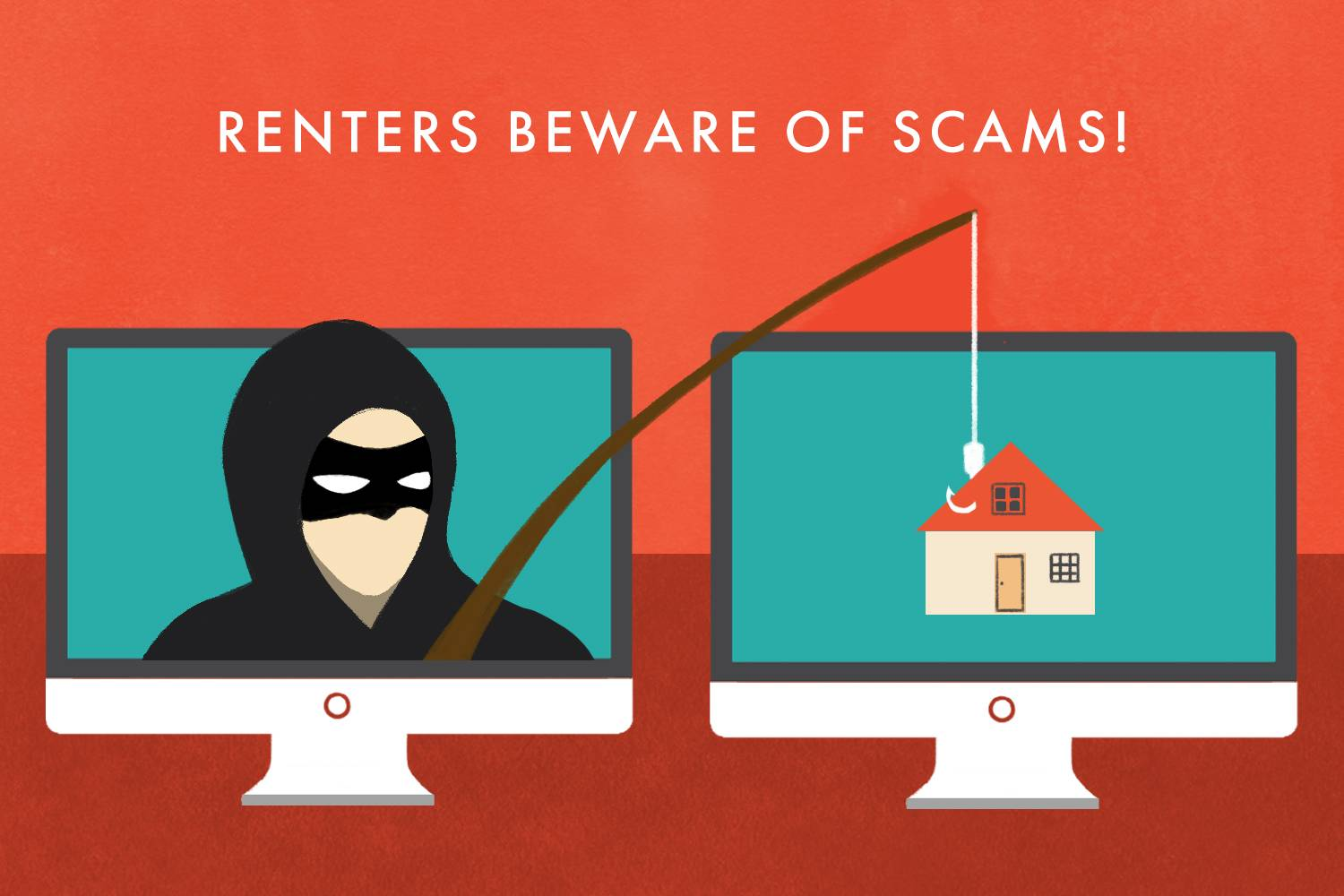 Photo - online safety avoiding apartment rental scams rental scams phishing schemes