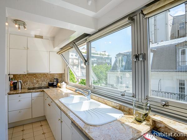 Bild der Küche in PA-3154.