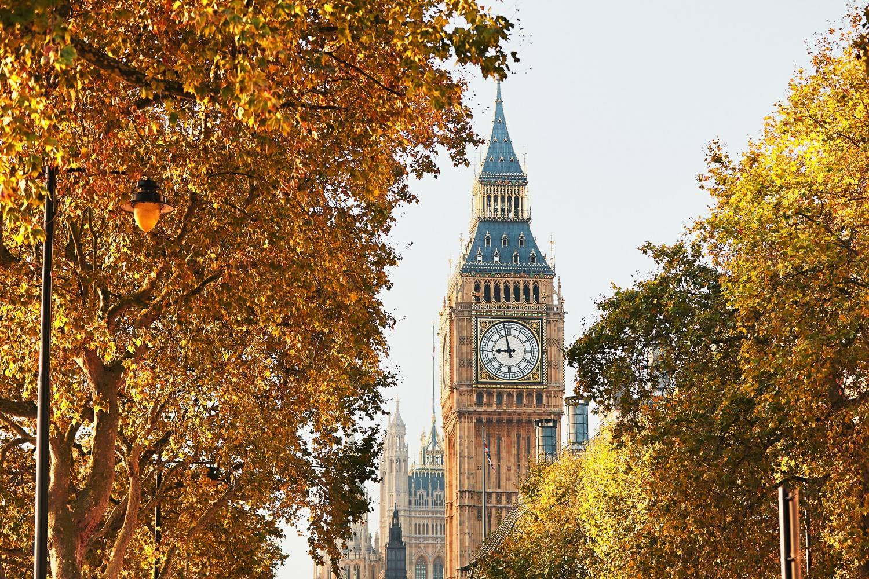 Reisen Sie wie ein Engländer diesen Herbst durch London