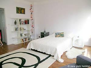 Pariser Unterkunft Studiowohnung in Montmartre (PA-3596)