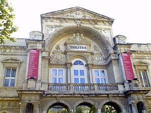 Theater in Avignon, Frankreich