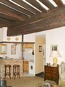 Ein Mietangebot in Paris Eine Wohnung mit einem Schlafzimmer auf der Ile Saint Louis, Marais Les Halles
