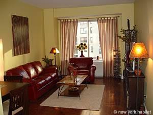 Eine andere Möglichkeit stellt diese Wohnung mit einem Schlafzimmer dar (NY-12157)