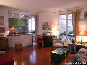 Pariser 2-Zimmer-Wohnung an der Champs Elysées (PA-910) Foto