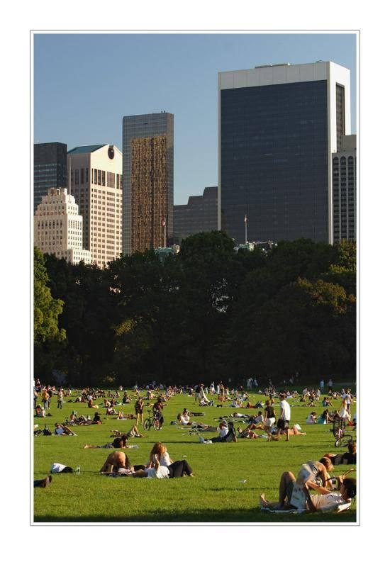 Eine Ferienwohnung im Frühling und ein Ausflug durch New York Citys Parks
