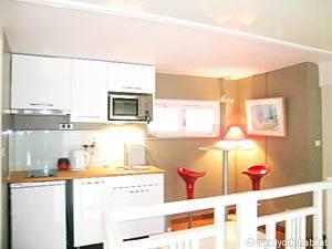 Einer Wohnung in Paris Ein Studio in Luxembourg, Montparnasse (PA-3663)