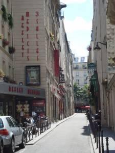 Kinos auf der Rue Champollion