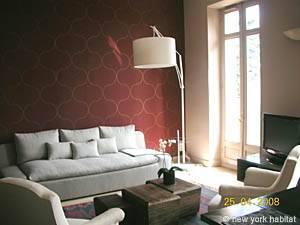 Eine Wohnung in Südfrankreich: Eine Unterkunft mit einem Schlafzimmer in Aix en Provence (PR-432)